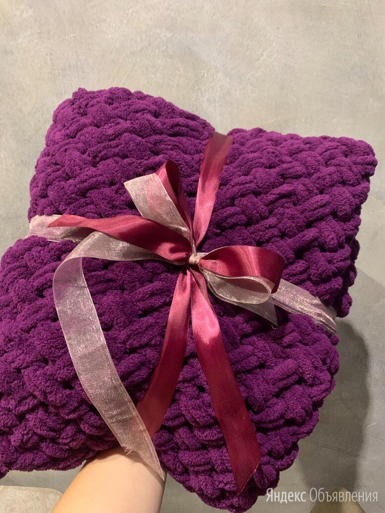 Плед вязаный на заказ по цене 1500₽ - Покрывала, подушки, одеяла, фото 0