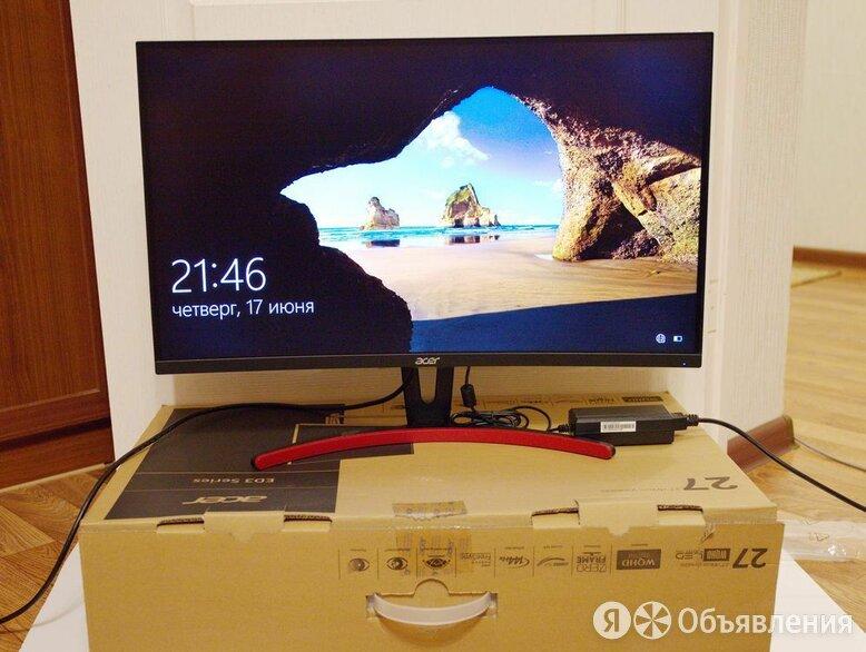 """Игровой монитор Acer 27"""" 2560х1440 х 144 Гц, идеальное состояние по цене 18750₽ - Мониторы, фото 0"""
