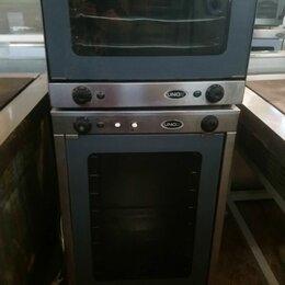 Жарочные и пекарские шкафы - Конвекционная печь унокс xf 085, 0
