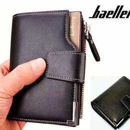 Кошельки - Мужское портмоне кошелёк Baellerry Ultra Mini, 0