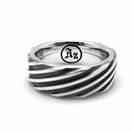 "Кольца и перстни -   Кольцо из серебра ""Turbo""  AZR-049, 0"