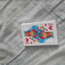 Настольные игры - Красивый карты игральные с пластиковым покрытием 1 колода, 0