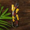 """Панно дерево """"Геккон с желтыми лапками"""" 0,5х7,5х20 см по цене 613₽ - Стеновые панели, фото 1"""