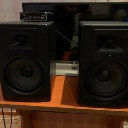 Оборудование для звукозаписывающих студий - Студийные мониторы M-audio BX8 8 дюймовые (пара), 0