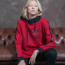 Толстовки - Толстовка спортивный женская. Цвет красный. Stillini™, 0