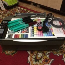 Принтеры, сканеры и МФУ - Мфу Epson CX3900 в отличном состоянии для дома и учёбы, 0