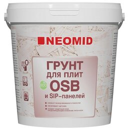 Краски - Грунтовка акрилатная NEOMID для OSB-плит 7 кг , 0