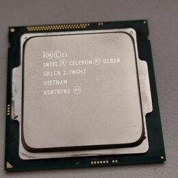 Процессоры (CPU) - Сокет 1150 Celeron G1840 2 ядра по 2.8 ГГЦ каждое, 0