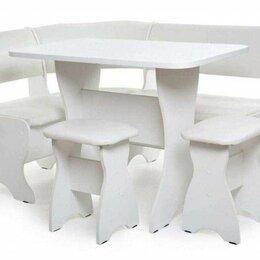 Мебель для кухни - Кухонный уголок тюльпан белый милк💥0722💥, 0