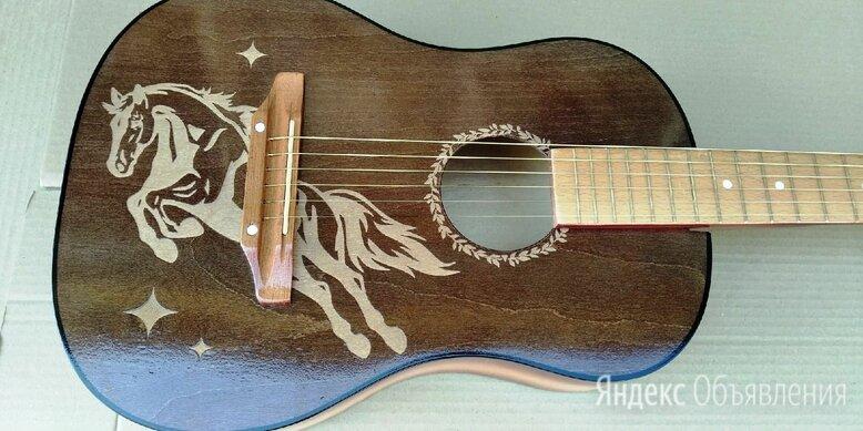 Акустические гитары с пирографией по цене 6500₽ - Акустические и классические гитары, фото 0