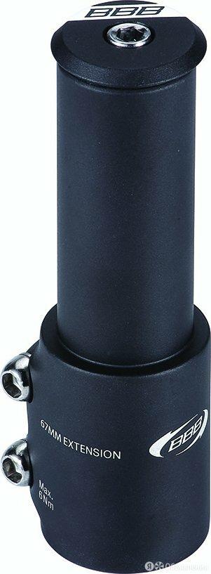 Рулевая колонка BBB TubeExtend, 28.6mm, черный, BHP-22 по цене 2025₽ - Аксессуары и запчасти, фото 0
