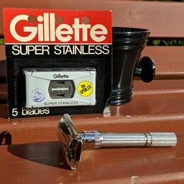 Бритвы и лезвия - Gillette Adjustable H1 Slim 1962. Gillette Razor, 0