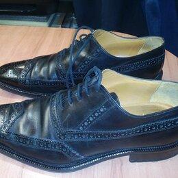 Туфли - мужская кожаная обувь марки ARTIGIANO BOLOGNES, 0