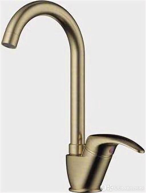 Смеситель для кухни Omoikiri Umi-AB бронзовый 4994262 по цене 8188₽ - Краны для воды, фото 0