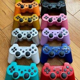 Аксессуары - Цветные джойстики PS3, геймпад DualShock 3, 0