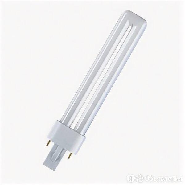 Лампа компактная люминесцентная КЛЛ 9Вт G23 Dulux S 840 2р G23 4000К холодный... по цене 125₽ - Лампочки, фото 0