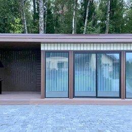 """Готовые строения - Дачный домик """"Deep House 15"""" с навесом, 0"""