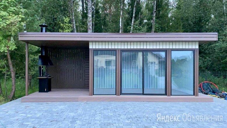 """Дачный домик """"Deep House 15"""" с навесом по цене 925000₽ - Готовые строения, фото 0"""