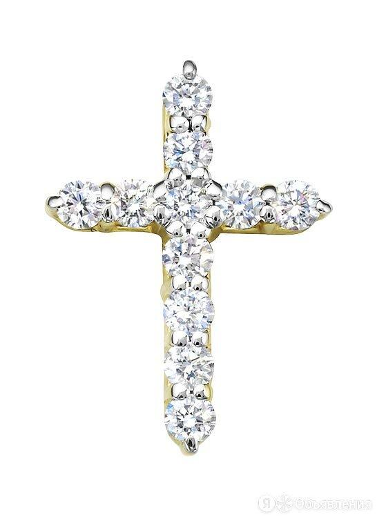 Крестик Vesna jewelry 31285-351-00-00 по цене 37350₽ - Кулоны и подвески, фото 0