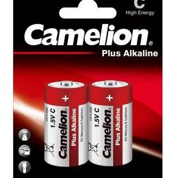 Батарейки - Элемент питания алкалиновый LR LR14 BL-2 (блист.2шт) Camelion 1653, 0