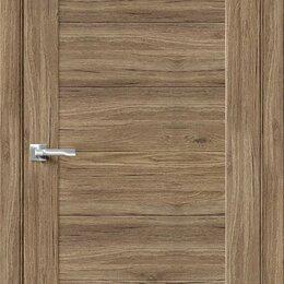 Входные двери - Межкомнатная дверь с экошпоном Браво-21 Original Oak, 0