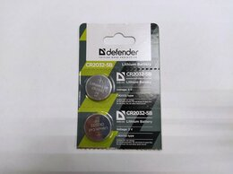 Аксессуары - Батарейка литиевая Defender CR2032-5B 1 шт, 0