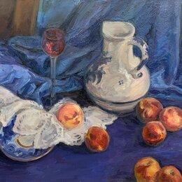 Картины, постеры, гобелены, панно - Картина холст масло Персики, 0