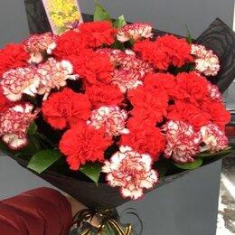 Цветы, букеты, композиции - Букет гвоздик на похороны, 0