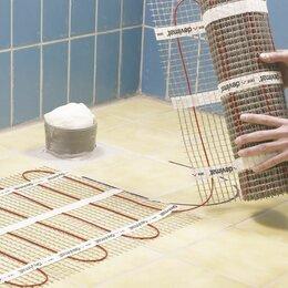 Электрический теплый пол и терморегуляторы - Двухжильный нагревательный мат под плитку на 8 кв. метров, 0