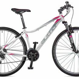 Велосипеды - Женский гибридный велосипед AUTHOR Stratos ASL (700С) 2018 (Рама 17 (Рост 155-, 0