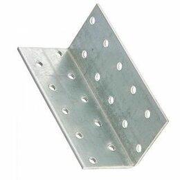 Перфорированный крепеж - Крепежный уголок равносторонний 60*60*100мм (KUR), 0