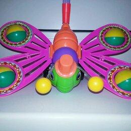 Каталки и качалки - Каталка бабочка-погремушка., 0