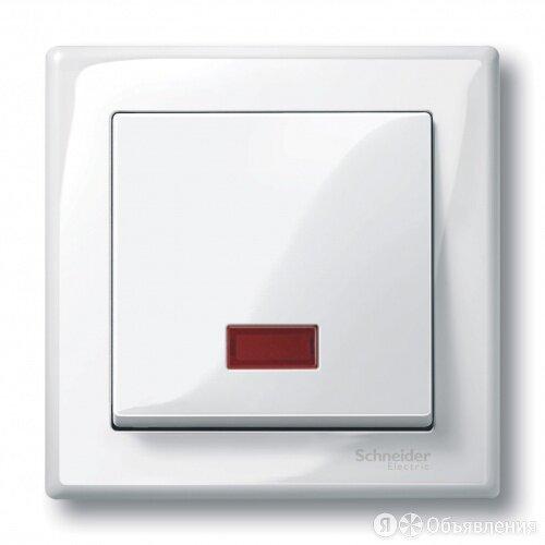 MERTEN КЛАВИША Х1 с окошком для световой индикации, ПОЛЯРНО-БЕЛЫЙ, MTN432819 по цене 395₽ - Электроустановочные изделия, фото 0