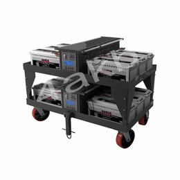 Оборудование для транспортировки - Тележка-стеллаж для хранения и перевозки аккумуляторных батарей 05.Т.042.51.000, 0