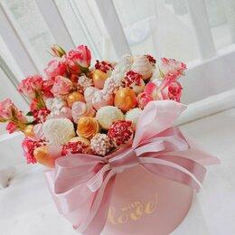 Цветы, букеты, композиции - Клубника в шоколаде клубничные букеты Кемерово, 0