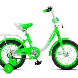 Велосипеды - Велосипед 16 maxxpro (зелено-белый), 0