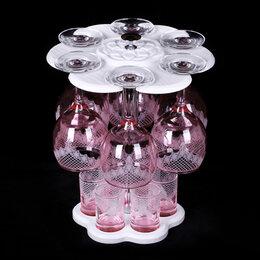 Аксессуары - Мини-Бар 12пр. арт.1501-НГ (Крокус) Нацвет,гравировка.Розовый, 0
