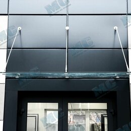 Готовые строения - Навесы и козырьки из закалённого стекла или триплекса, 0