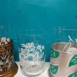 Бокалы и стаканы - Тонкостенные стаканы для подстаканников, 0