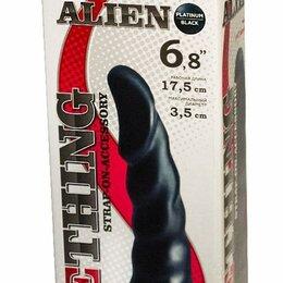 Белье - Насадка для трусиков харнесс Alien - 17,5 см. Черный, 0
