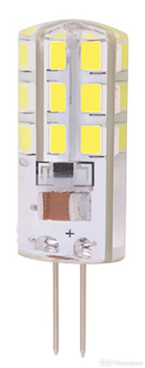 Лампа светодиодная    3,0Вт G4 JC 4000K 200Лм прозрачная 230В  капсульная 50Г... по цене 72₽ - Лампочки, фото 0