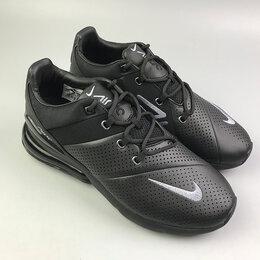 Кроссовки и кеды - Кроссовки Nike air max 270 Black Leather, 0