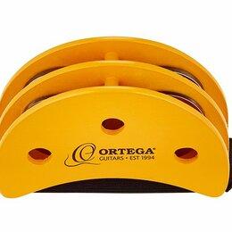 Продукты - Ortega OGFT тамбурин на ногу, полумесяц, 4 пары стальных бубенцов, 0