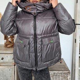 Куртки - Женская короткая зимняя куртка р-ры 42-52, 0