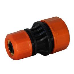 Шланги и комплекты для полива - Центроинструмент Муфта соединительная 1/2-3/4 для шлангов (74007), 0