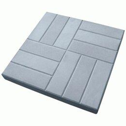 Тротуарная плитка, бордюр - Тротуарная плитка бетонная 500.500.50 «12 кирпичей, 0