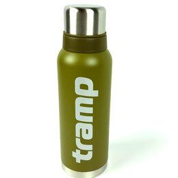 Термосы и термокружки - Термос 1.2 л Tramp оливковый (TRC-029), 0