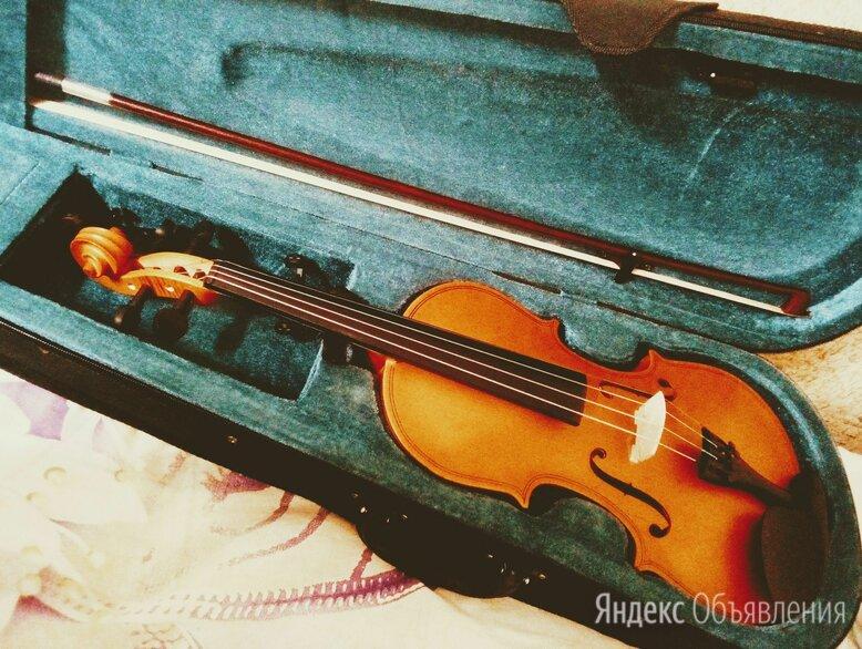 Vb-290-4/4 скрипка  в футляре со смычком скрипка 2000 года по цене 5000₽ - Смычковые инструменты, фото 0