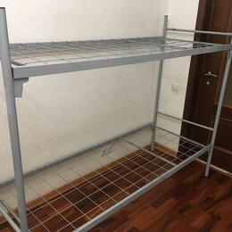 Кровати - Кровати металлические одноярусные для рабочих , 0