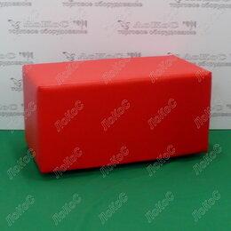 Пуфики - Банкетка прямоугольник с откидной крышкой 830х370х360мм, цвет кремовый, BN-00..., 0